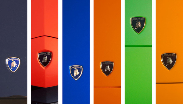 Lamborghini badges