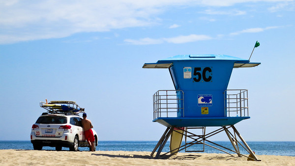 Lifeguard station, Coronado Beach
