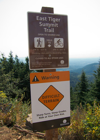 East Summit Trail on Tiger Mountain