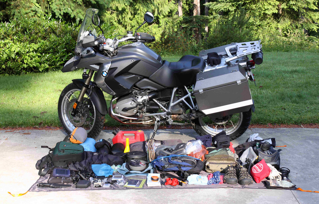 Trip gear with the 1200GS