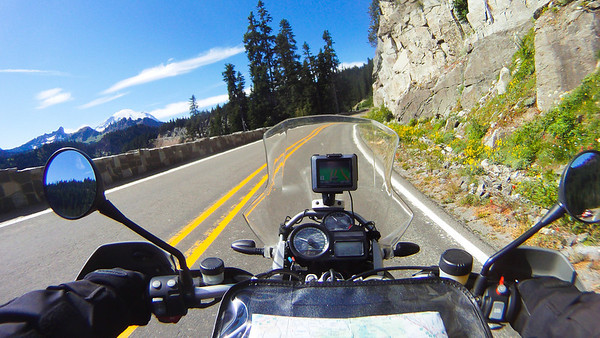 Climbing to Chinook Pass