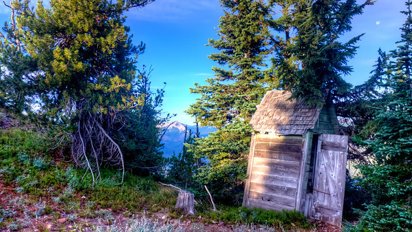 Outhouse on Timberwolf