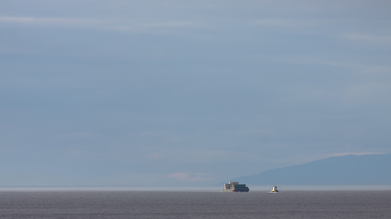 Tug boat on the Inside Passage