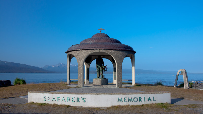 Seafarer's Memorial at Homer