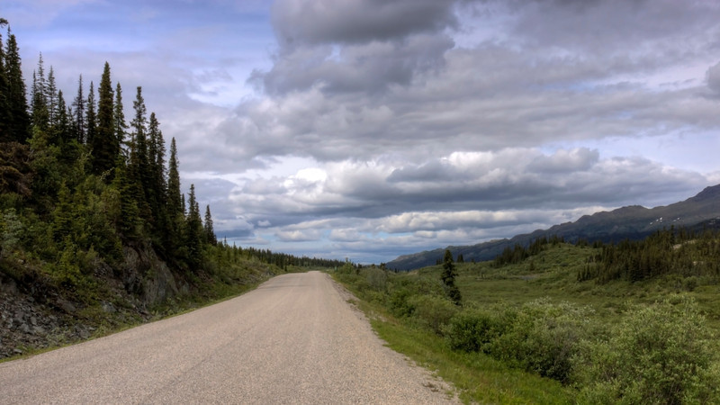 Northbound Cassiar Highway