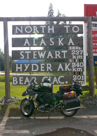 Start of the Cassiar Highway