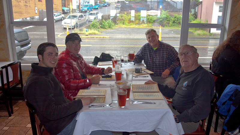 Lunch at the Ocean View in Ketchikan