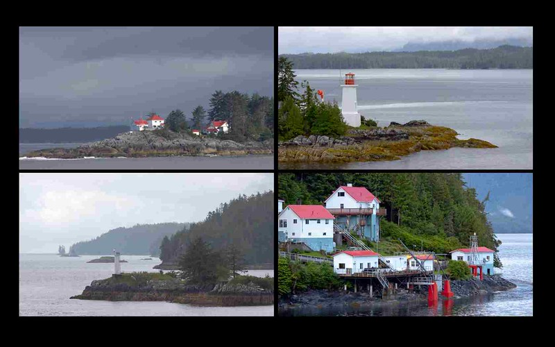 Lighthouses on the Inside Passage
