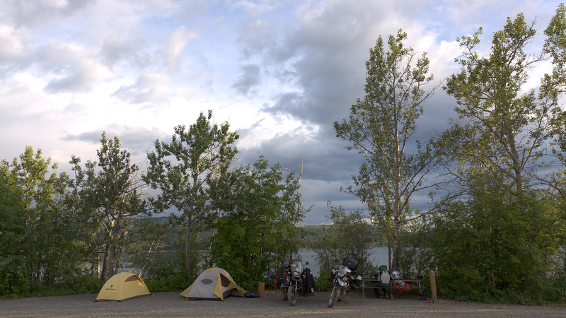 Twin Lakes campsite