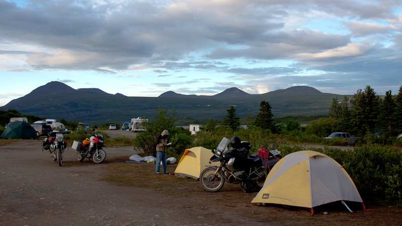 Tankgle Lakes campground
